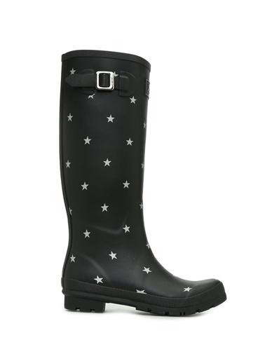 Joules Lastik Yağmur Çizmesi Siyah